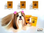 DoggyDolly PS001 Silk Coat Fellpflege für Hunde 3er Set