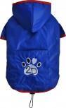 DoggyDolly DR053 Regenmantel für Hunde blau