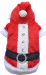 DoggyDolly MOPS&CO FP-ST001 Weihnachtsmantel für kräftige Hunderassen
