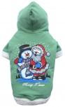 DoggyDolly ST005 Weihnachtspullover für Hunde grün