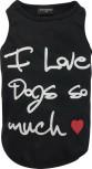 DoggyDolly Partnerlook T-Shirt für Hunde schwarz