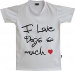 DoggyDolly Partnerlook T-Shirt für´s Frauchen weiß