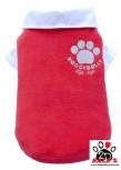 Vorführmodell - DoggyDolly Hundepullover Fleece rot W086
