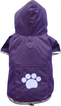 DoggyDolly BIG DOG BD122 Regenmantel für große Hunde lila