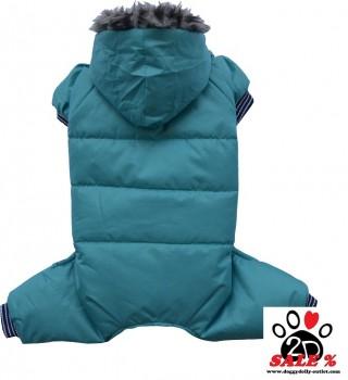Vorführmodell - DoggyDolly BIGDOG Hunde-Schneeanzug BD209 - S