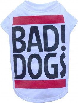 DoggyDolly BIG DOG BD401 T-Shirt für große Hunde weiß