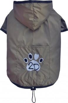 DoggyDolly DR052 Regenmantel für Hunde bronze - L