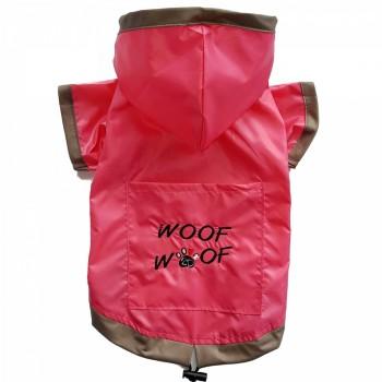 DoggyDolly DR063 Regenmantel für Hunde pink - S