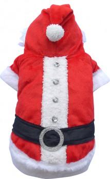 DoggyDolly ST001 Weihnachtsmantel für Hunde