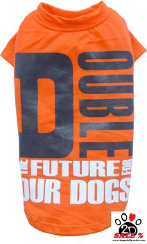 Vorführmodell - DoggyDolly Hundeshirt orange T472 - XL