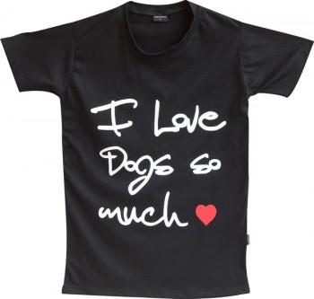 DoggyDolly Partnerlook T-Shirt für´s Frauchen schwarz