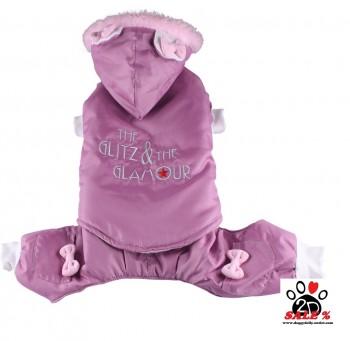 Vorführmodell - DoggyDolly Hunde-Skianzug rosa W100