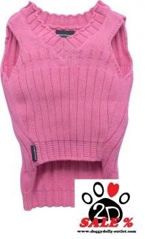 Vorführmodell - DoggyDolly Hundestrickpullover pink W271 - L