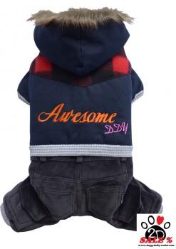 Vorführmodell - DoggyDolly Outdoor Hundejogger blau-schwarz W299