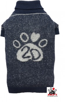Vorführmodell - DoggyDolly Hundepullover Jeans-Look W353 - M