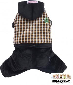 Vorführmodell - DoggyDolly Hundejogger Outdoor schwarz W367 - S