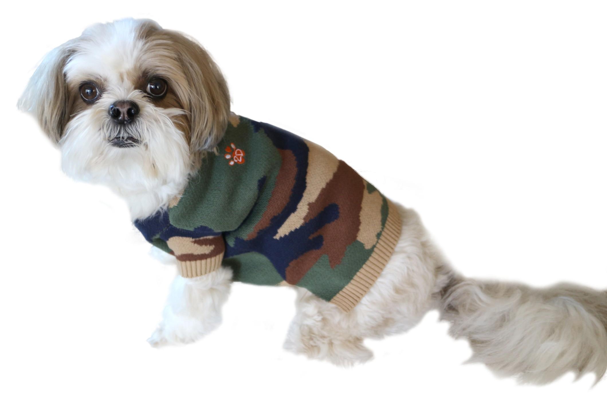 doggydolly w355 strickpullover f r hunde camouflage xs brust 31 33 cm r cken 18 20 cm w355 2. Black Bedroom Furniture Sets. Home Design Ideas