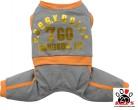 Vorführmodell - DoggyDolly Hundejogger grau-orange C279