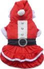 DoggyDolly ST002 Weihnachtskleid für Hunde