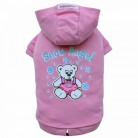 DoggyDolly W225 Kapuzen Pullover für Hunde SNOW ANGEL rosa