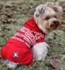 DoggyDolly DRF013 Jogginganzug für Hunde rot - L