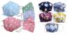 DoggyDolly Mundbedeckung aus Baumwolle - Gesichtsmaske bunter Mix 10er Set