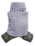 DoggyDolly C195 Hundekombi Jeans & Hemd