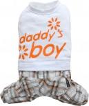 """DoggyDolly C230 Hundekombi """"Daddy´s Boy"""" - weiß"""