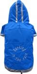 DoggyDolly DR008 Regenmantel für Hunde blau
