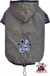 Vorführmodell - DoggyDolly MOPS&CO Hunderegenmantel bronze FP-Dr052