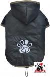 Vorführmodell - DoggyDolly Hunderegenmantel schwarz DR055