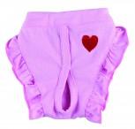 DoggyDolly DSR047 Schutzhöschen Herz rosa