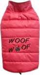 DoggyDolly W380 Hundemantel WOOFWOOF pink - XL-