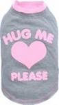"""DoggyDolly T142 Hundeshirt """"HUG ME"""" grau"""
