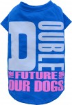 DoggyDolly MOPS&CO FP-T473 Hundeshirt blau