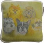 DoggyDolly Einkaufstasche Tiermotiv HUNDE