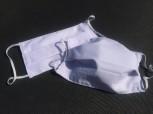 DoggyDolly Mundbedeckung aus Baumwolle - Gesichtsmaske klassisch weiß 2er Set