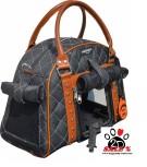 Vorführmodell - DoggyDolly Hundetasche gesteppt schwarz PC185