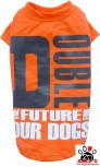 Vorführmodell - DoggyDolly Hundeshirt orange T472