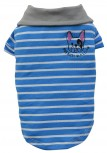 DoggyDolly T499 Polo Hundeshirt French Bulldog gestreift