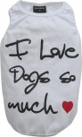 DoggyDolly Partnerlook T-Shirt für Hunde weiß