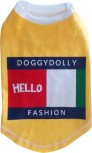 "DoggyDolly T565 Hundeshirt ""HELLO"" gelb - XL"
