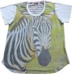 DoggyDolly T-Shirt für´s Frauchen Tiermotiv ZEBRA