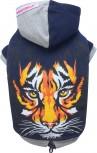 DoggyDolly W081 Hundepullover Tiger blau