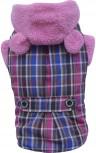 DoggyDolly W152 Teddymantel für Hunde rosa