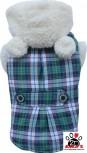Vorführmodell - DoggyDolly Hundemantel Teddy grün W153