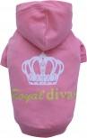 DoggyDolly W231 Kapuzen Pullover für Hunde rosa