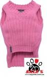Vorführmodell - DoggyDolly Hundestrickpullover pink W271