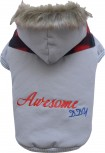 DoggyDolly W298 Hundejacke  AWESOME grau - XL