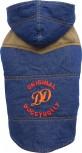 DoggyDolly W312 Jeansmantel für Hunde